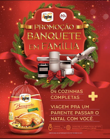 Promoção Granja Regina Banquete em Família