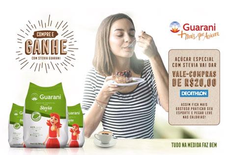 Promoção Ac?u?car Guarani com Stevia