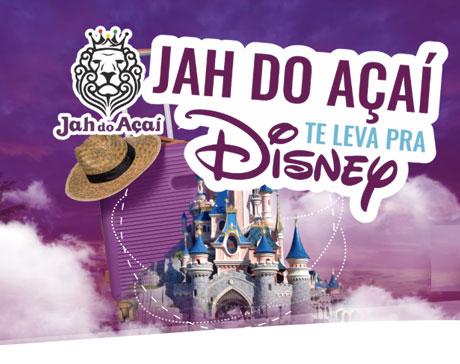 Promoção Jah Te Leva Para Disney