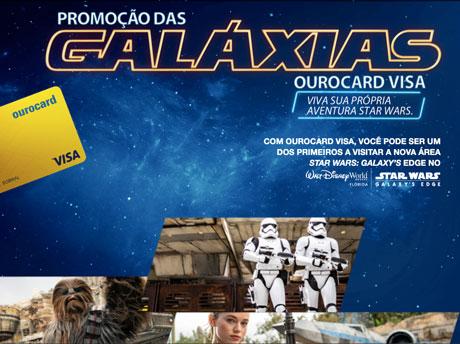 Promoção Das Galáxias Ourocard Visa