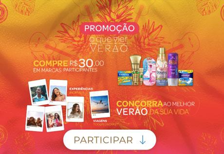 Promoção P&G O Que Vier Verão