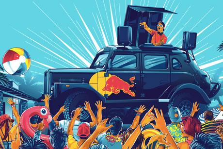 Promoção Red Bull Summer Edition Verão Sem Fim
