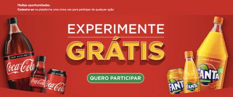 Promoção Cashback Coca-Cola sem Açúcar e Fanta Laranja