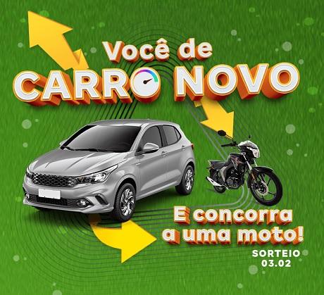 Promoção Consórcio Magalu Você de Carro Novo
