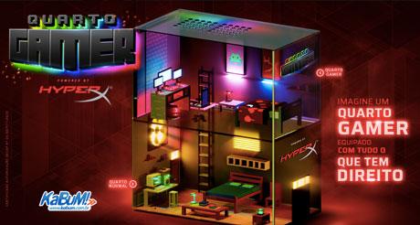 Promoção Kabum Quarto Gamer HyperX