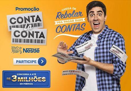 Promoção Conta La Conta Nestlé