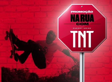 Promoção Na Rua com TNT