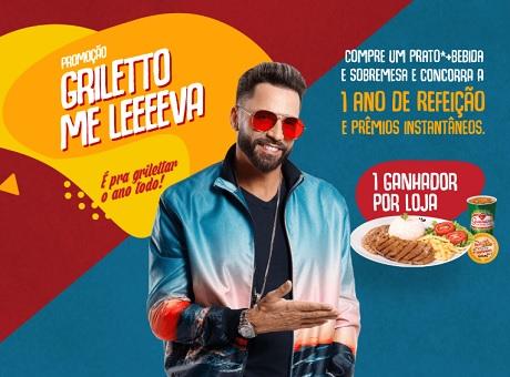 Promoção Griletto Me Leva