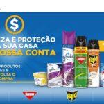 Promoção SCJohnson A Limpeza e Proteção da sua casa por nossa conta