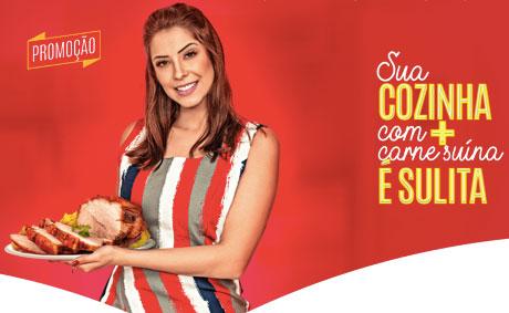Promoção Sua cozinha com + Carne Suína Sulita